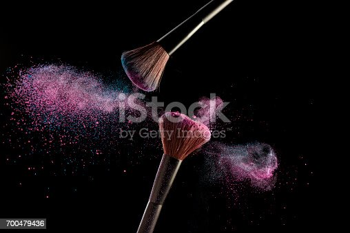 istock Make-up brushes 700479436