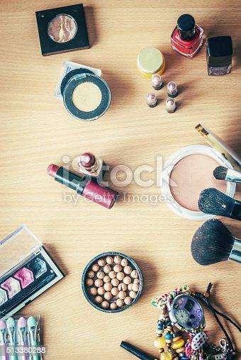 istock Makeup can begin 513380288