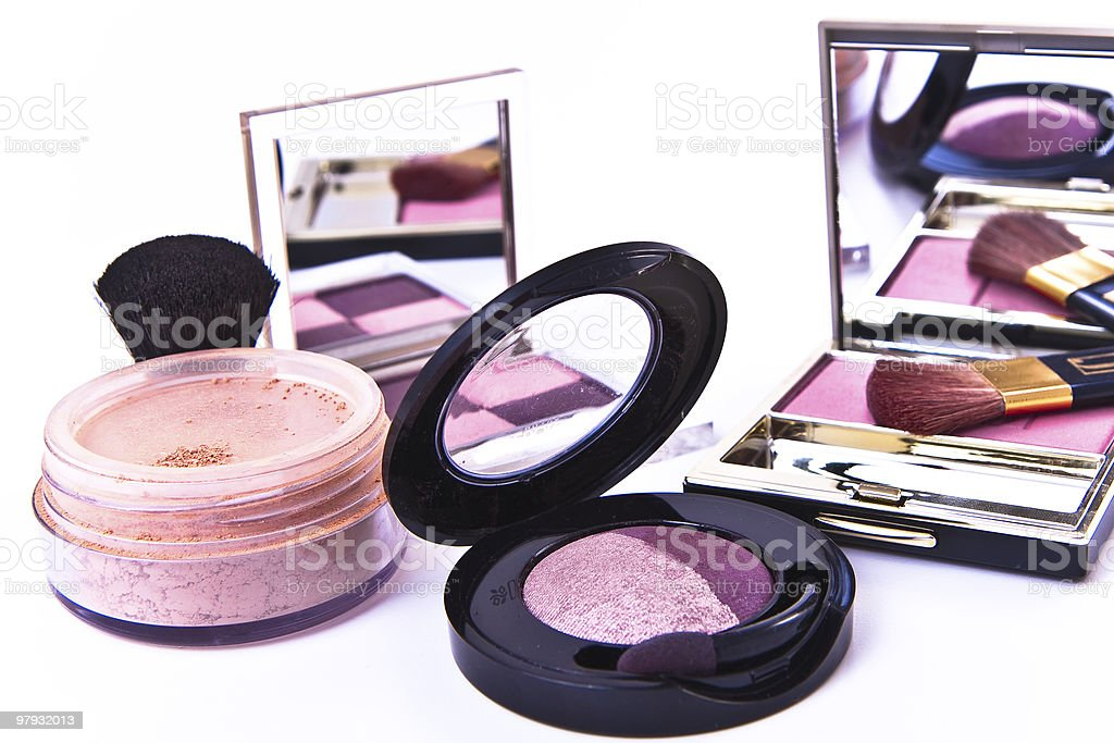 makeup collection royalty-free stock photo
