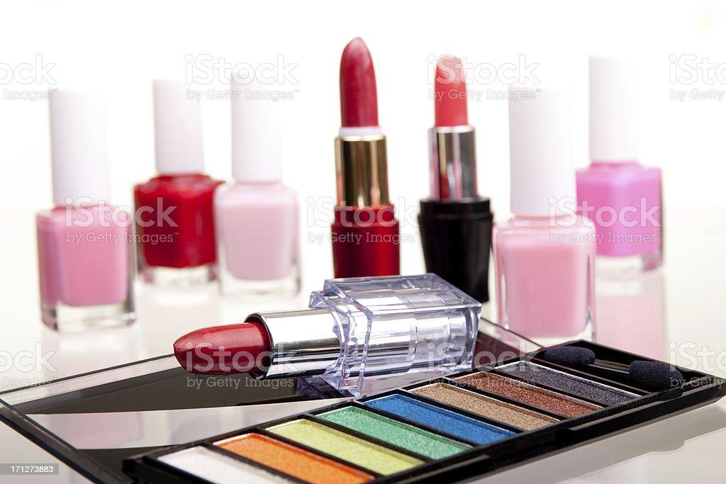 Make-up cosmetics stock photo