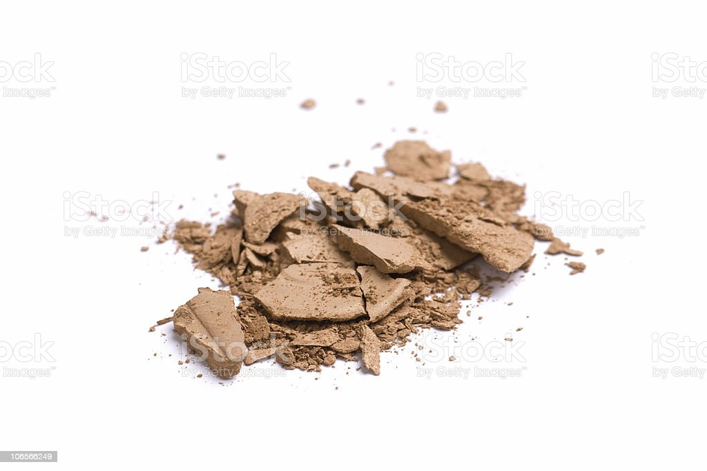 Makeup crush royalty-free stock photo