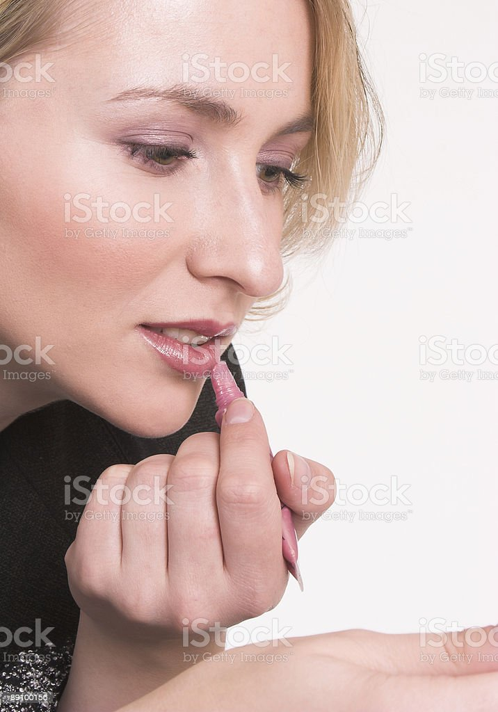 Makeup e royalty-free stock photo