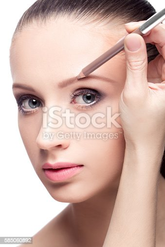 istock makeup for eyebrows 585060892