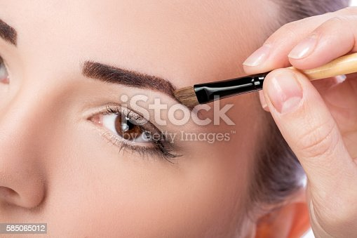 istock makeup for eyebrows 585065012