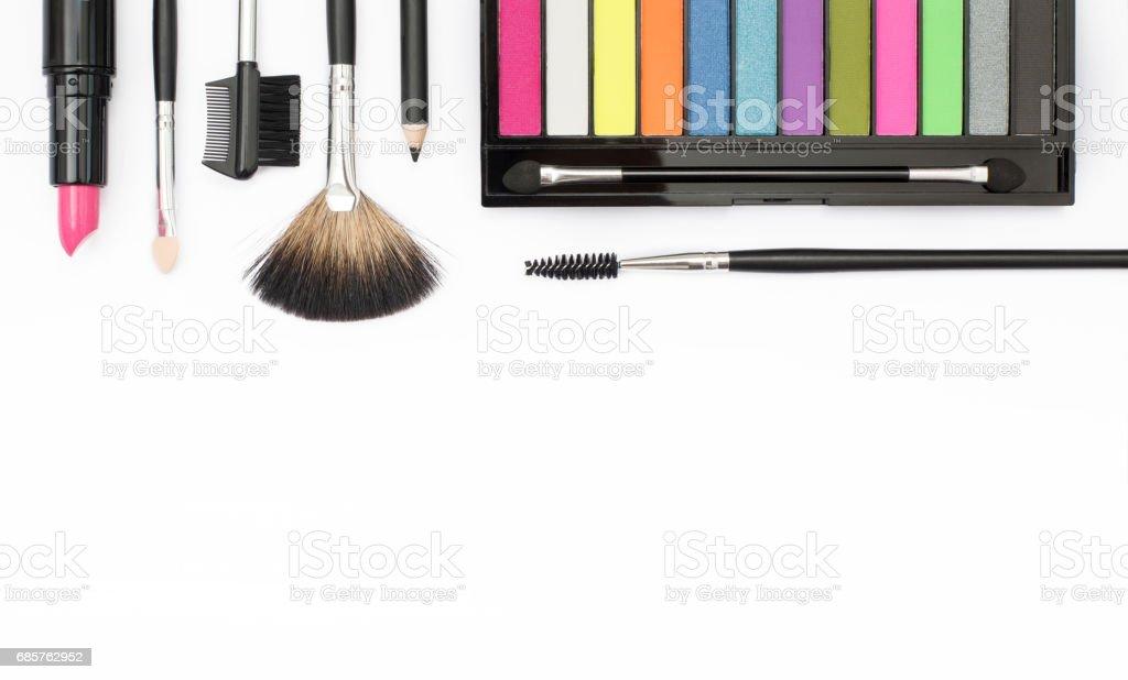 makeup header zbiór zdjęć royalty-free