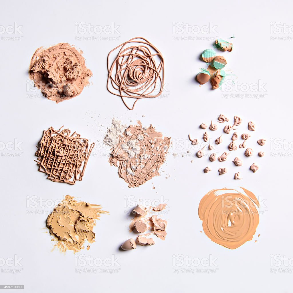 make-up materials stock photo