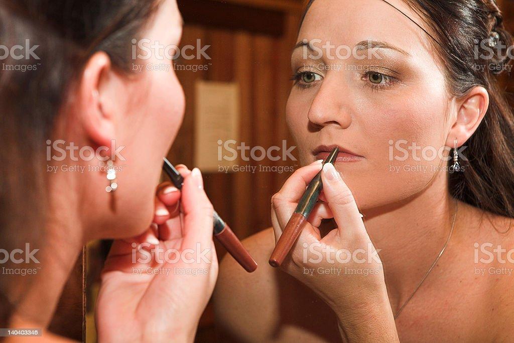 Makeup Mirror royalty-free stock photo