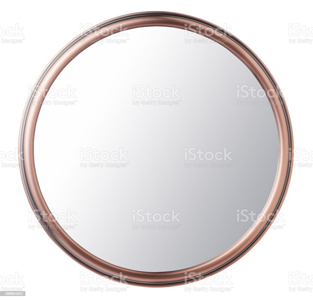 makeup mirror stock photo