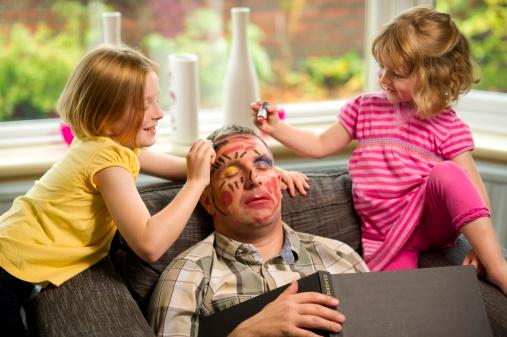 Makeup Mischief Stock Photo - Download Image Now