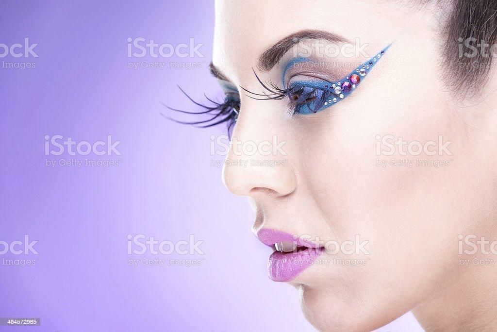 Makeup  Model ,luxury stock photo