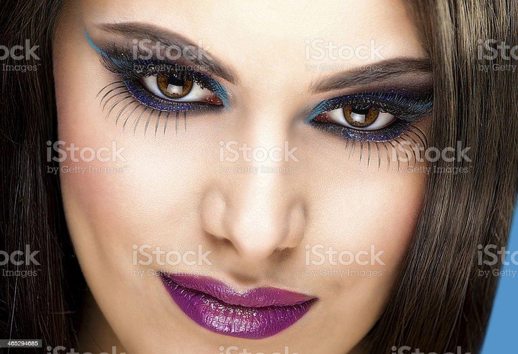 Makeup Model stock photo
