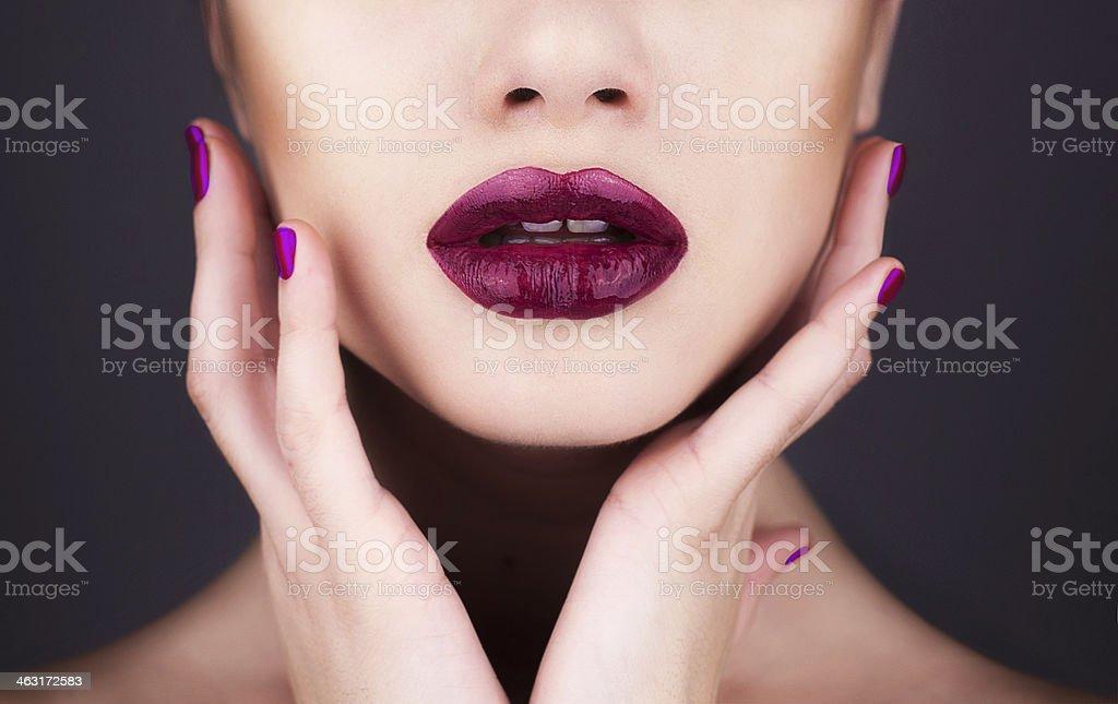 Maquiagem - foto de acervo