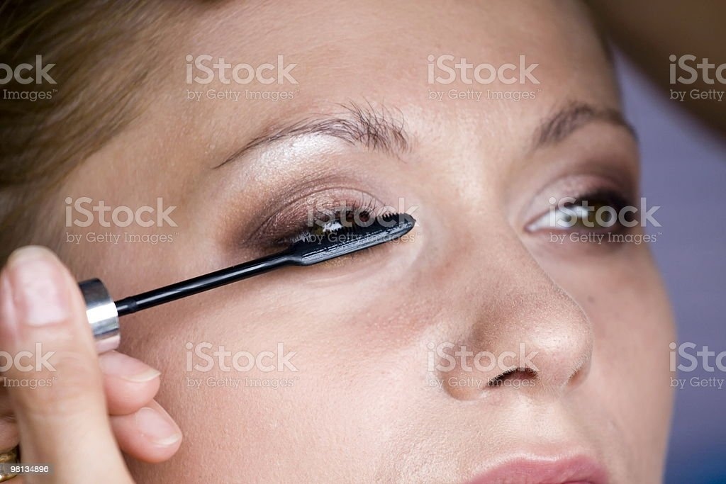 Makeup royalty-free stock photo