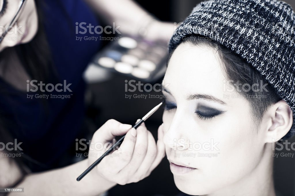 Makeup Portrait royalty-free stock photo
