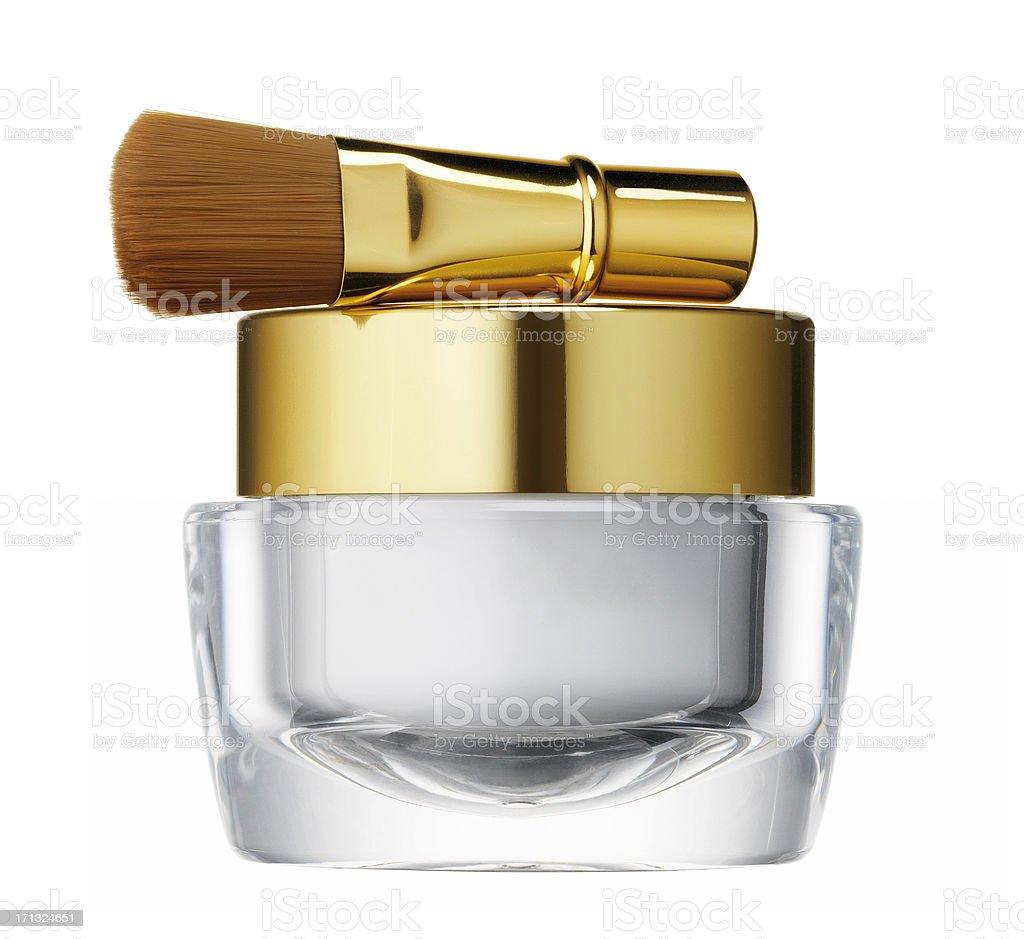 Makeup powder royalty-free stock photo