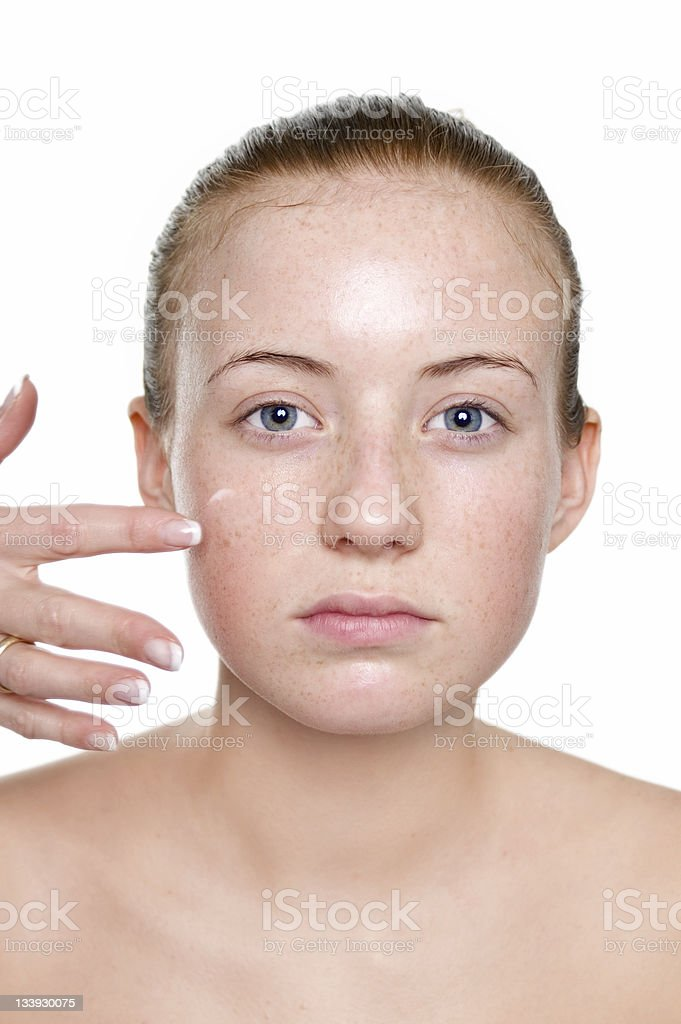 Make-Up Primer stock photo