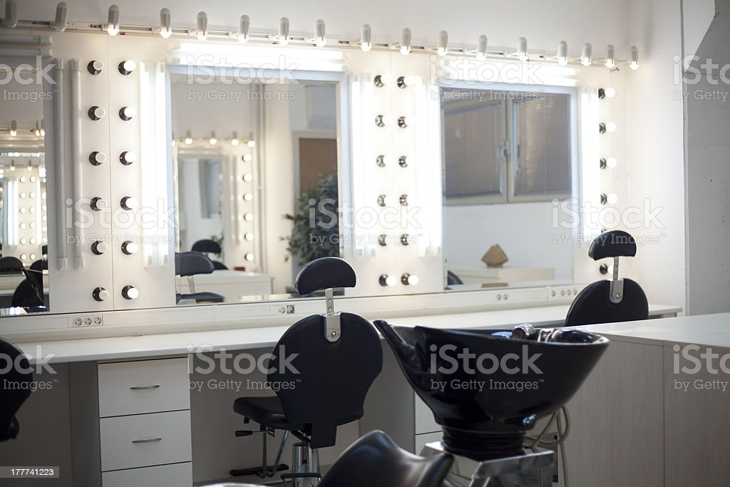 Makeup Room stock photo