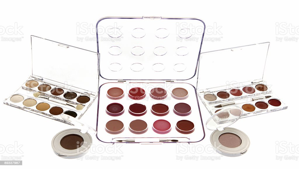 Makeup Selection royalty-free stock photo