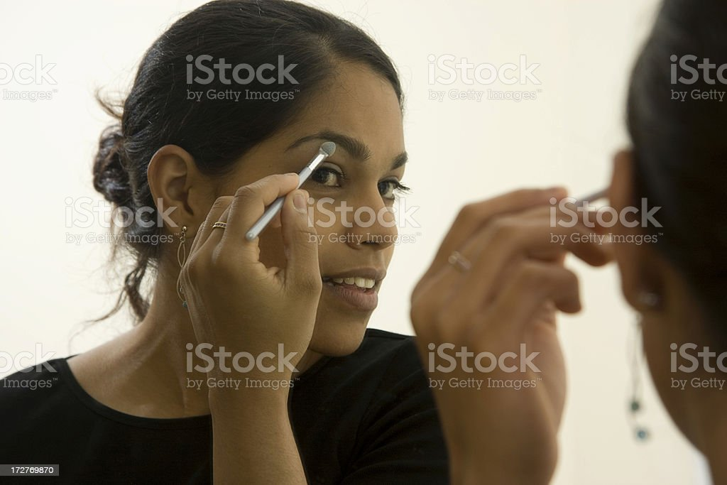 make-up serie royalty-free stock photo