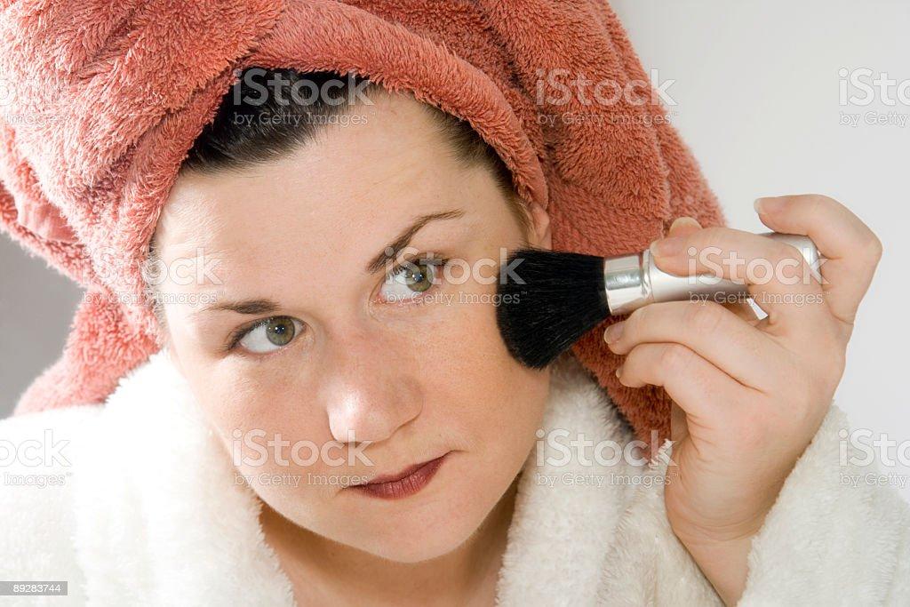Makeup series 6 royalty-free stock photo