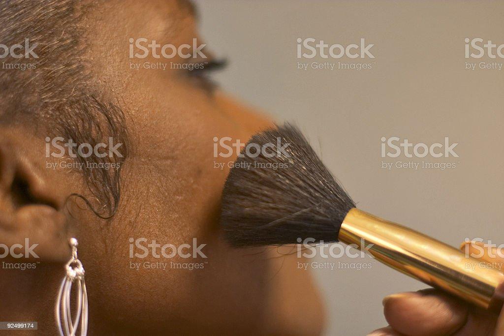 makeup series:1 royalty-free stock photo
