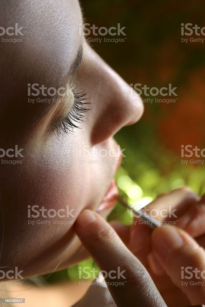 Make-up session 2 royalty-free stock photo