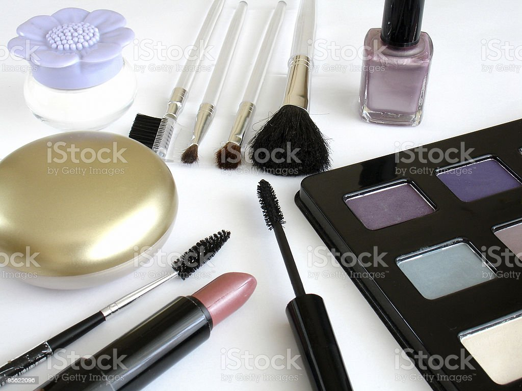 makeup set 2 royalty-free stock photo
