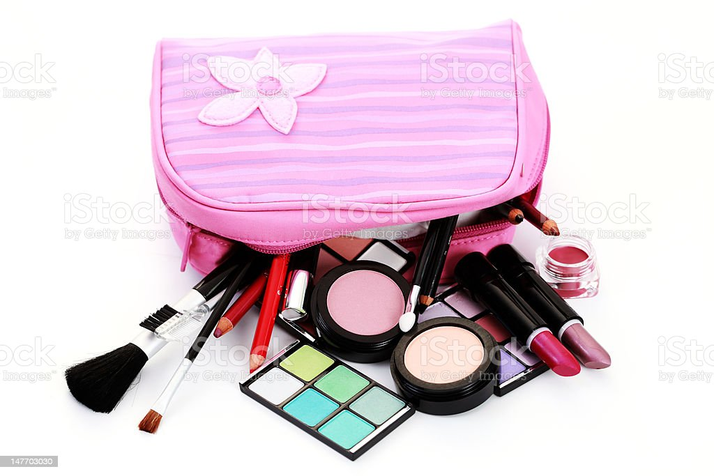 make-up set royalty-free stock photo