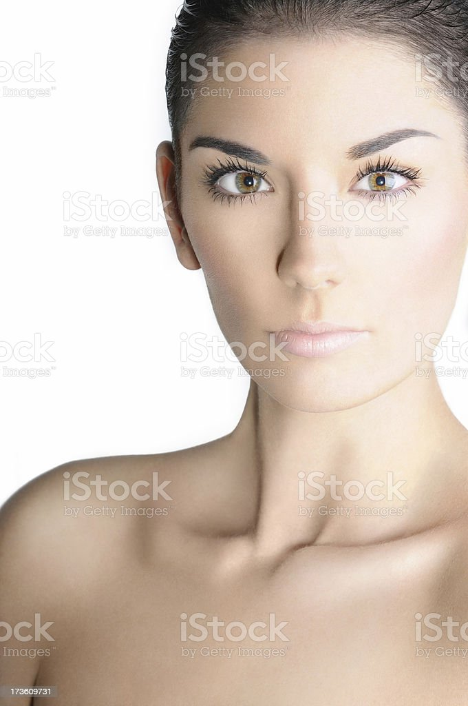 Makeup Skin Beauty Shot royalty-free stock photo
