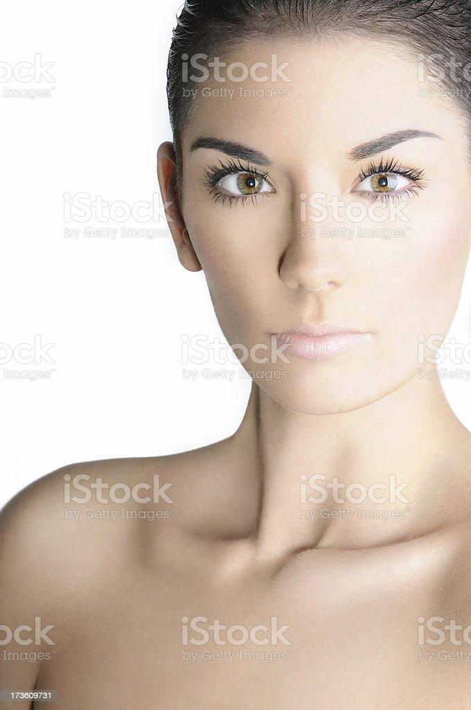 Makeup Skin Beauty Shot stock photo