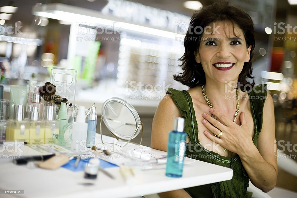 Makeup Table royalty-free stock photo