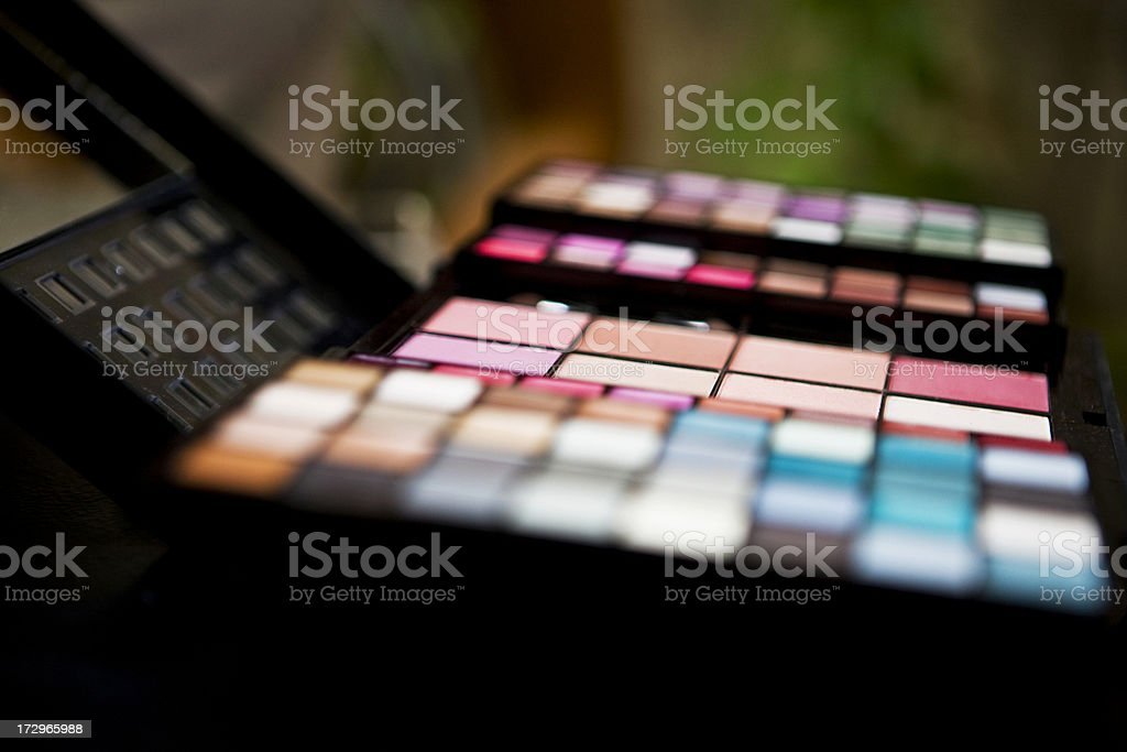 Make-ups royalty-free stock photo