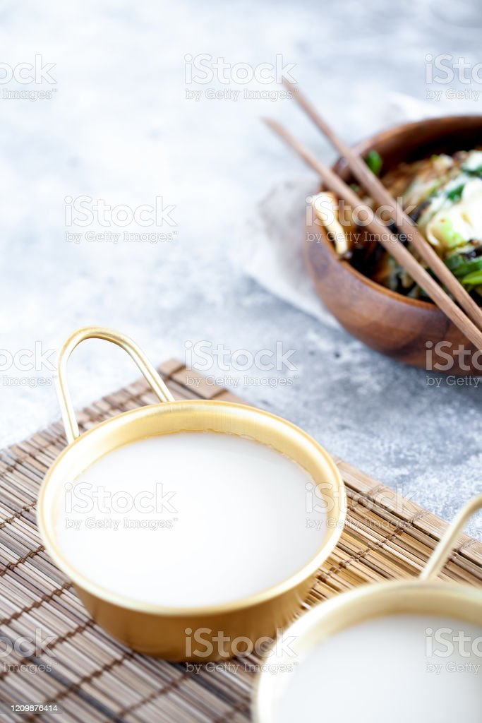 Makgeolli Rice Wine Is One Of The Oldest Korean Traditional Fermented Alcoholic Drinks Stock Photo Download Image Now Istock