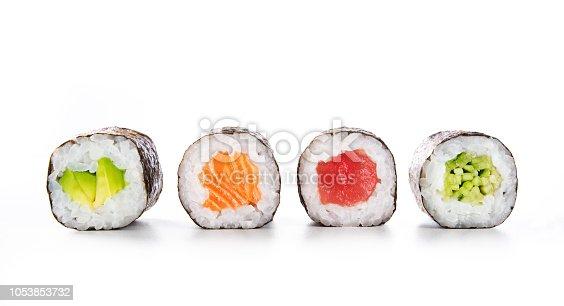 istock Maki sushi food 1053853732