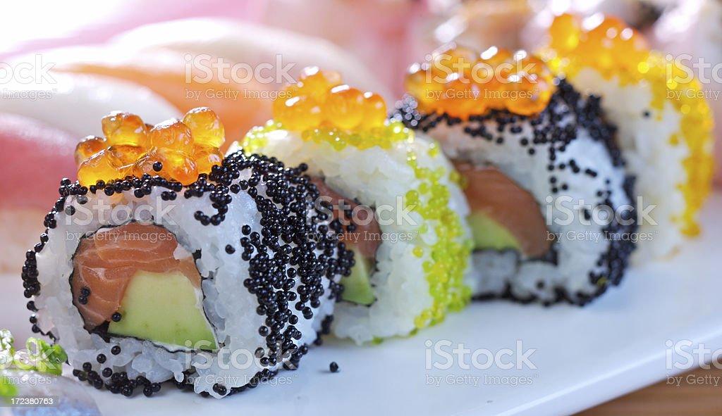 Maki sushi royalty-free stock photo