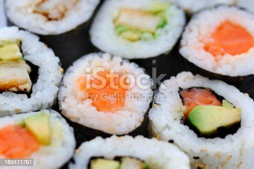 istock Maki Sushi 183411761