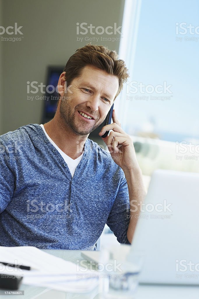 Making a business deal royalty-free stock photo