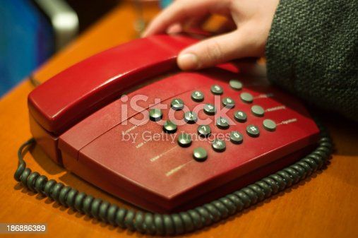 using the phone in a hotel-room