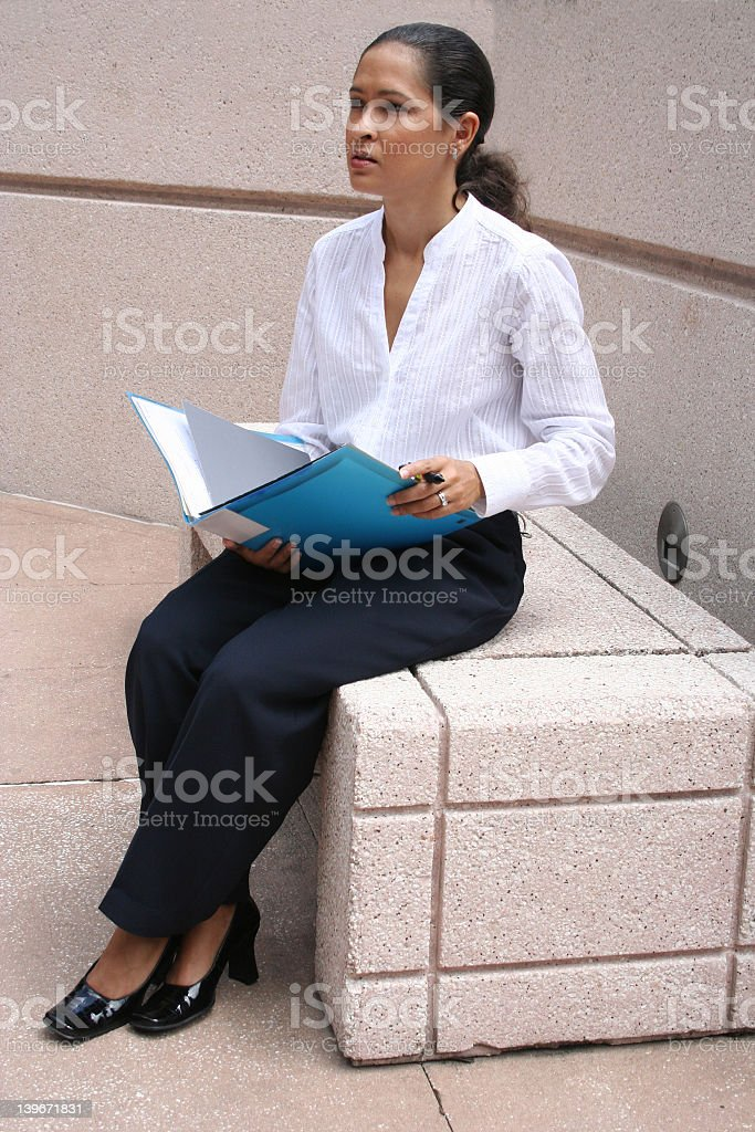 Making a decision? stock photo
