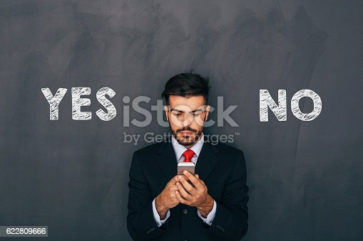 istock Making a decision 622809666