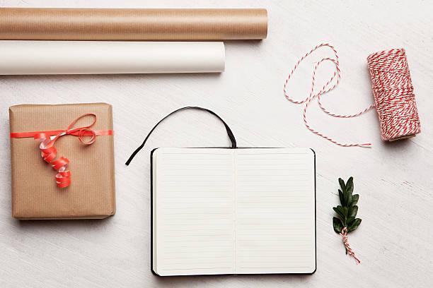 Eine Geschenk-list Valentinstag.  Geburtstag.  Christmas-englische Redewendung – Foto