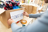 istock Making a good deed 1209079790
