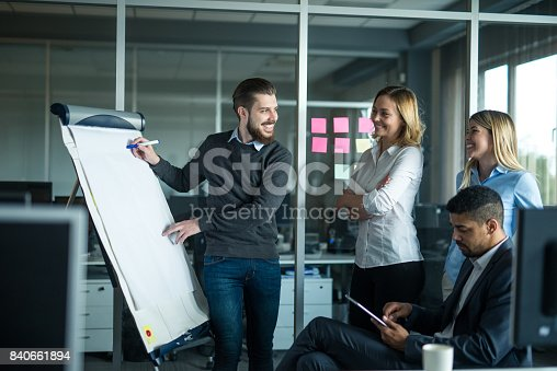 istock Making a presention 840661894