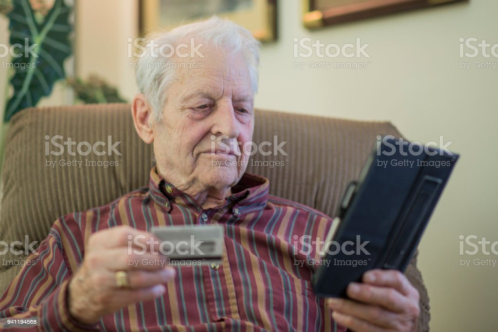 Making a Purchase stock photo
