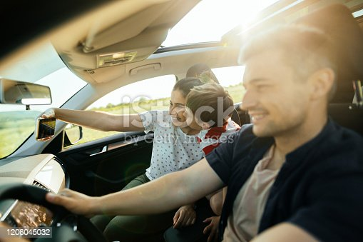 807410214 istock photo Making a selfie during our road trip 1206045032