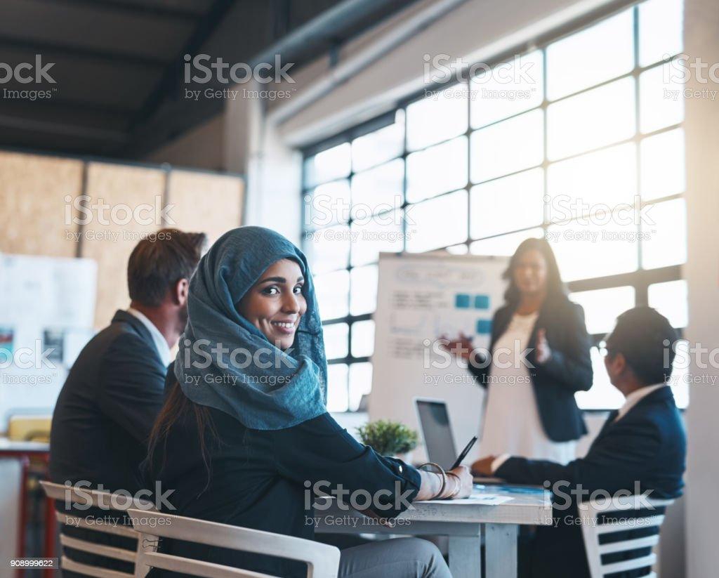 In der Vorstandsetage bewegt, groß – Foto