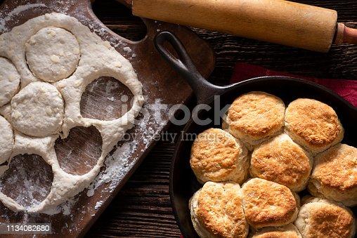 Making Fresh Buttermilk Biscuits