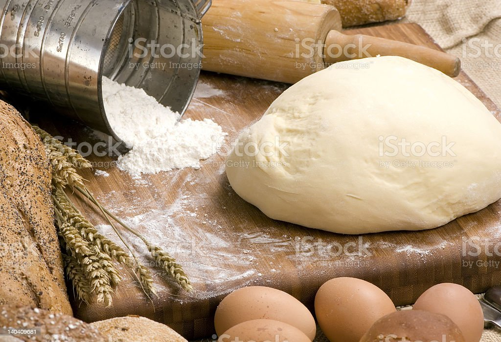 Making Bread Series 009 royalty-free stock photo