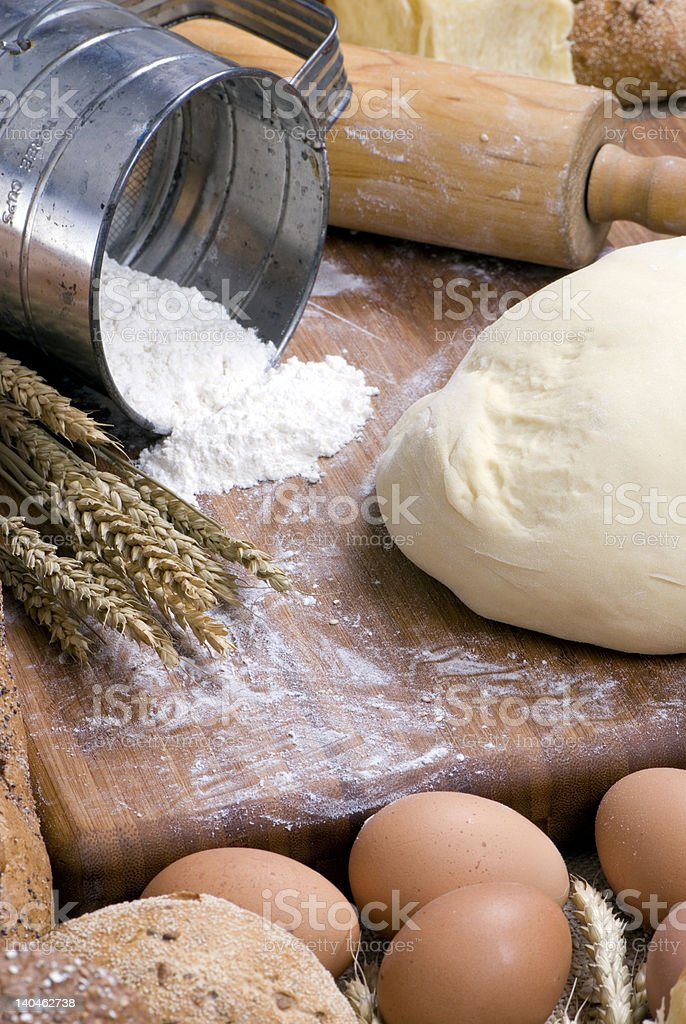 Making Bread Series 013 royalty-free stock photo