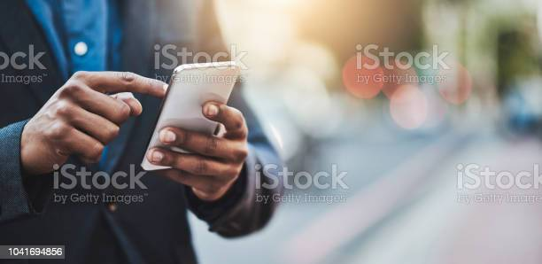 Making Business Connections Throughout The City Stock Photo - Download Image Now